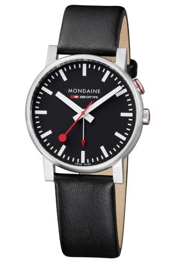 Mondaine montre homme suisse  EVO Alarm A468.30352.14SBB