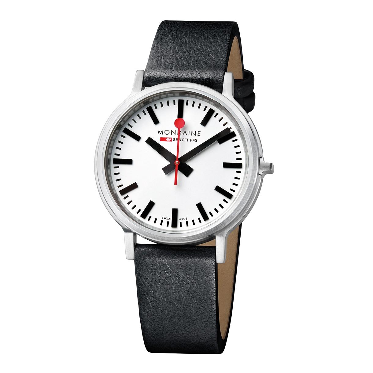 Mondaine swiss watch Stop2go A512.30358.16sbb