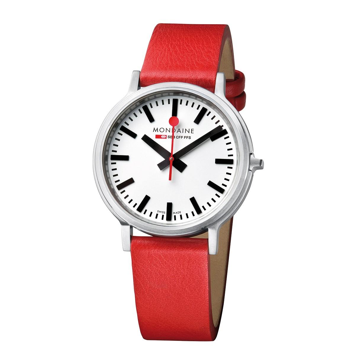 Mondaine swiss watch Stop2go A512.30358.16sbc