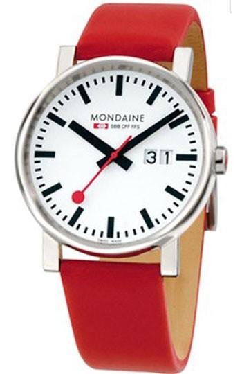 Mondaine montre suisse EVO Big Date A627.30303.11SBC