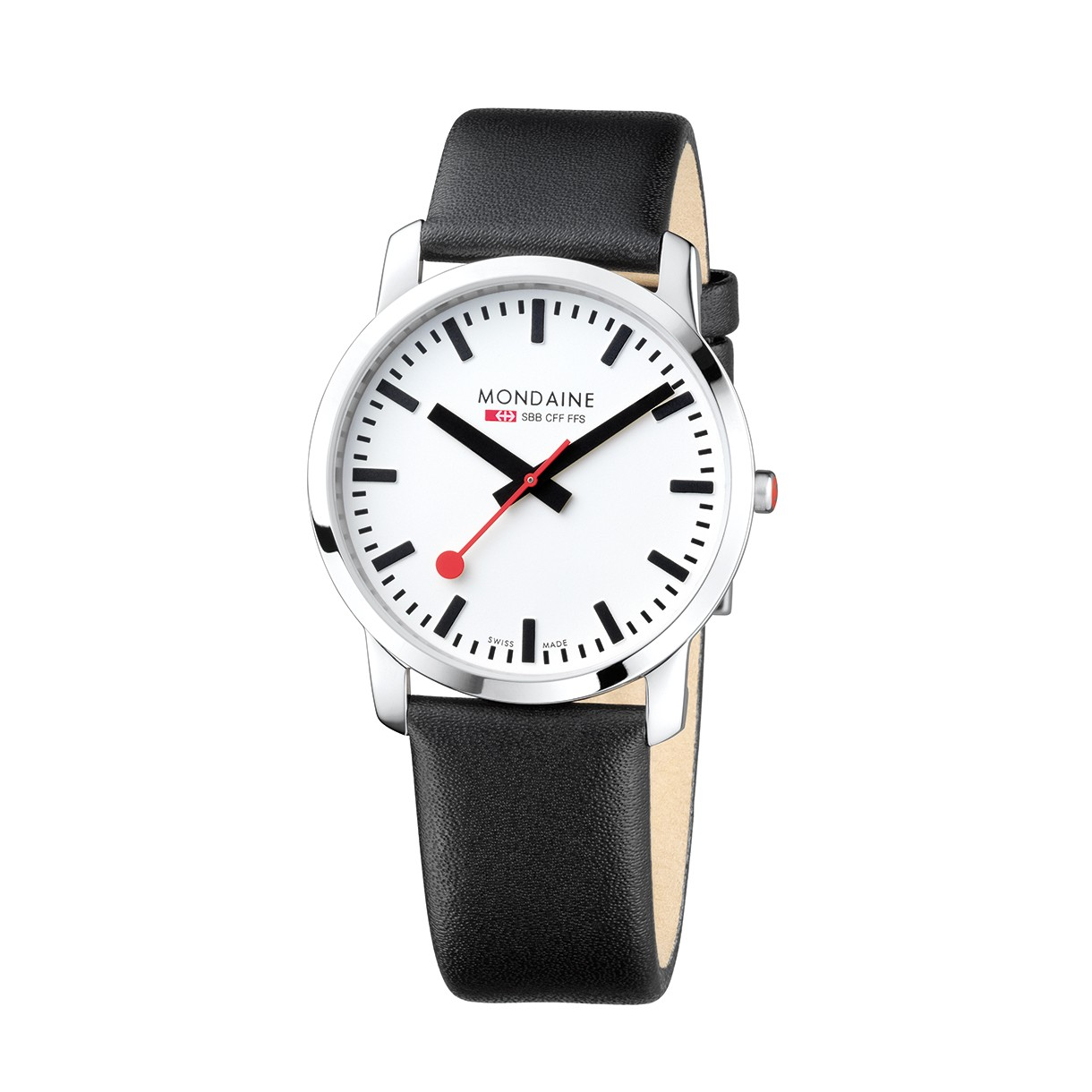 Mondaine swiss watch SIMPLY ELEGANT GENTS - A638.30350.11SBB