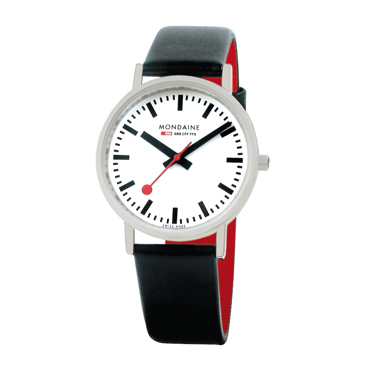 Mondaine swiss watch CLASSIC GENTS BRUSHED - A660.30314.16SBB