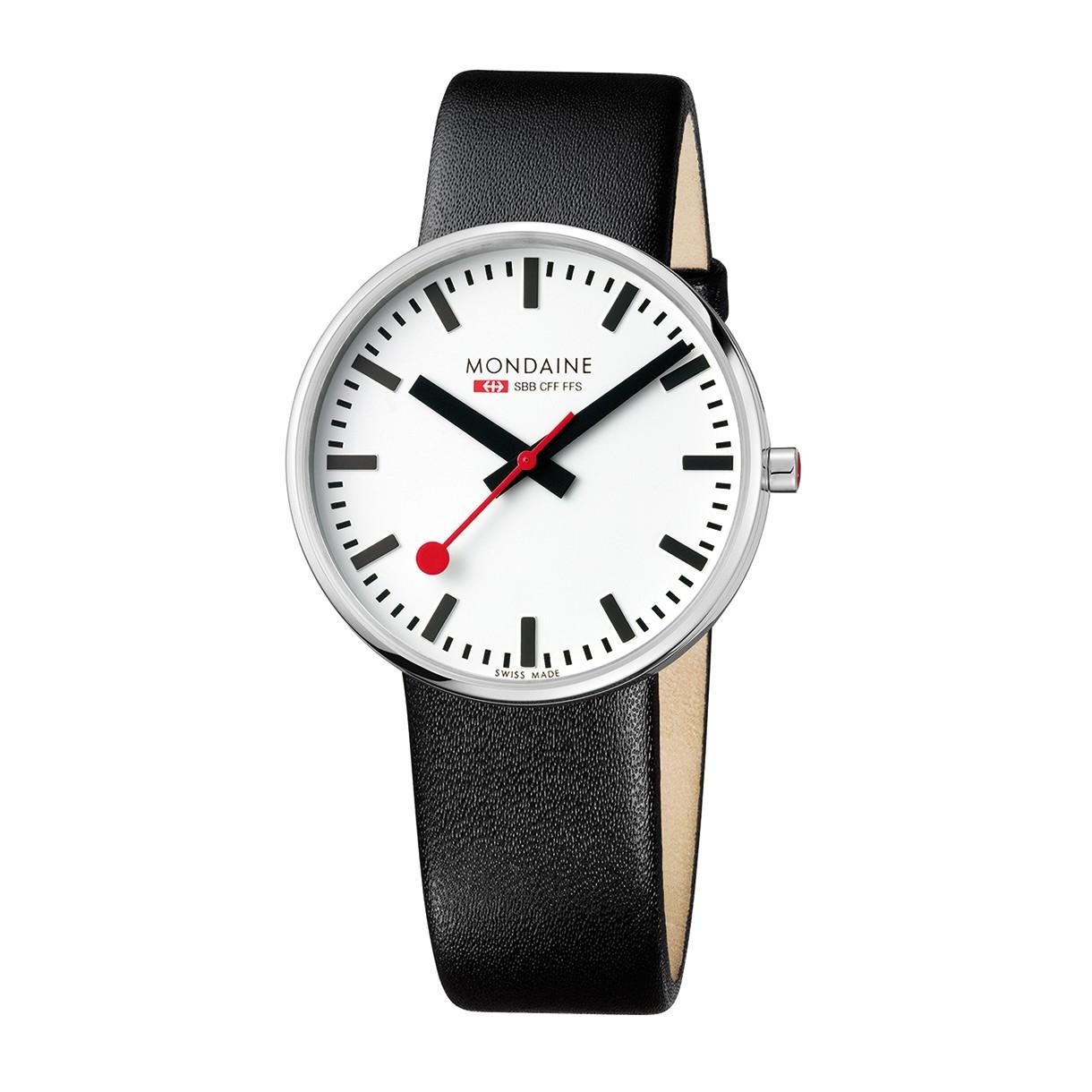 Mondaine swiss watch GIANT - A660.30328.11SBB