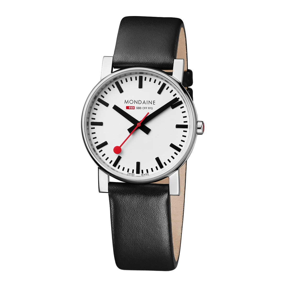 Mondaine swiss watch EVO GENTS 38 - A660.30344.11SBB