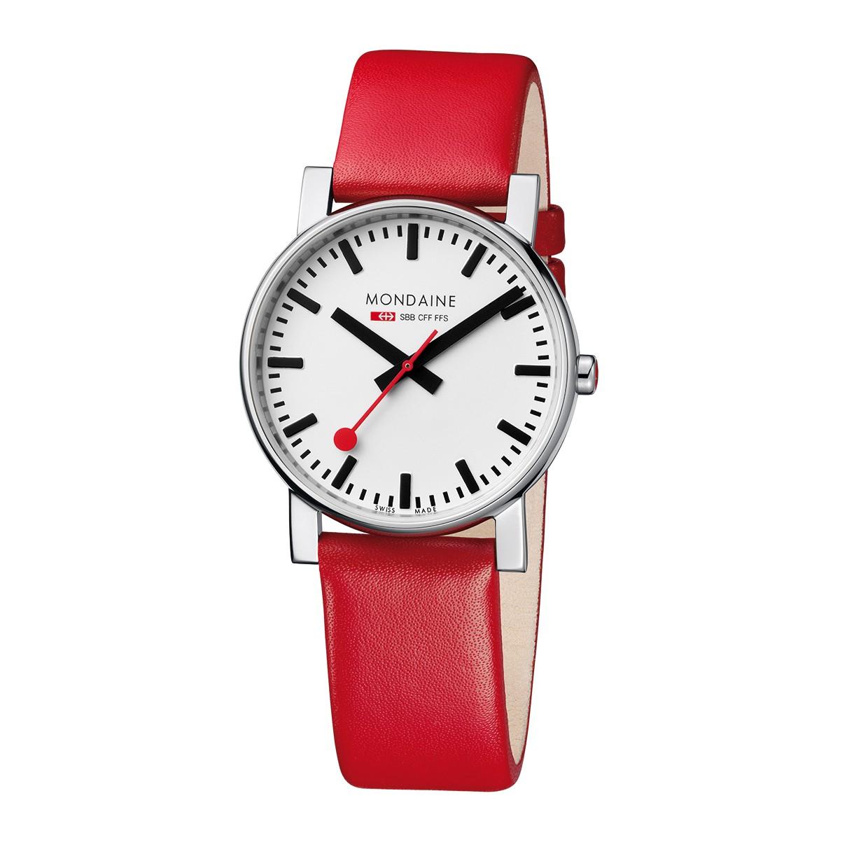 Mondaine swiss watch EVO GENTS 38 - A660.30344.11SBC