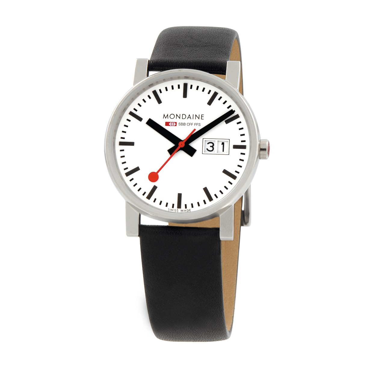 Mondaine swiss watch EVO GENTS BIG DATE - A669.30300.11SBB