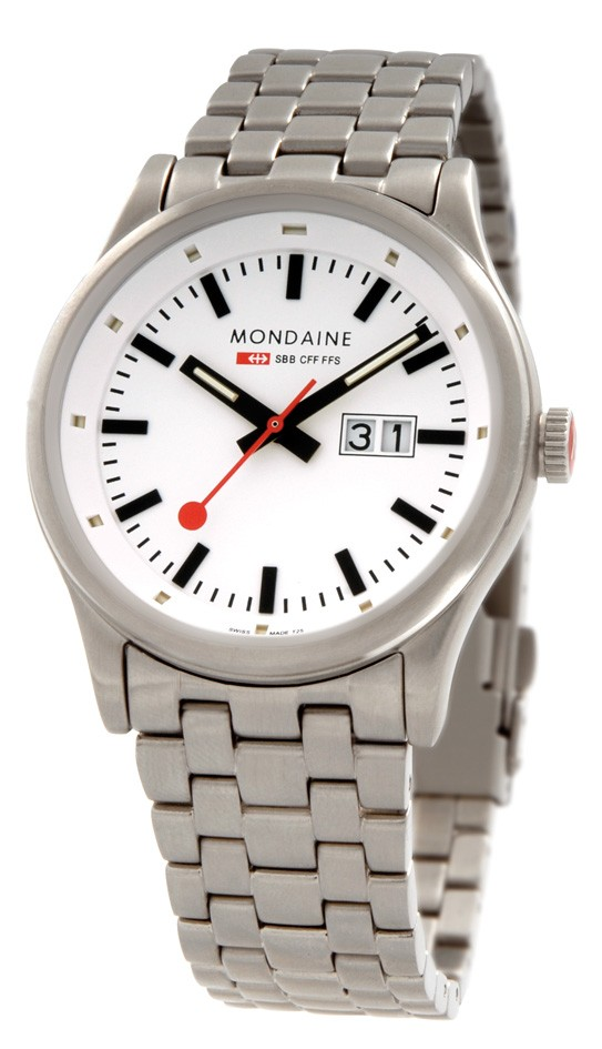 Mondaine swiss watch SPORT I GENTS DAY DATE - A667.30308.16SBM