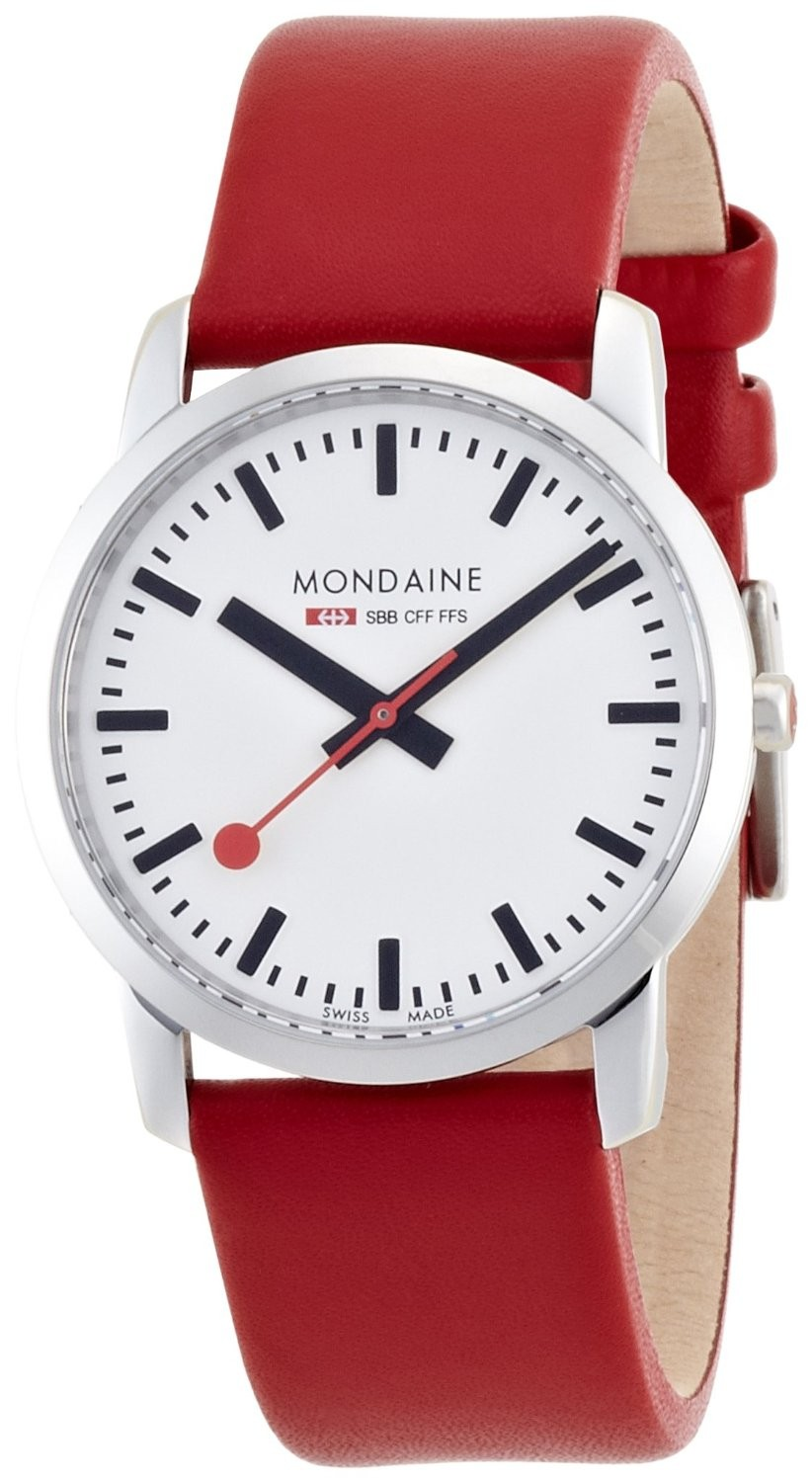 Mondaine swiss watch SIMPLY ELEGANT LADIES - A400.30351.11SBC