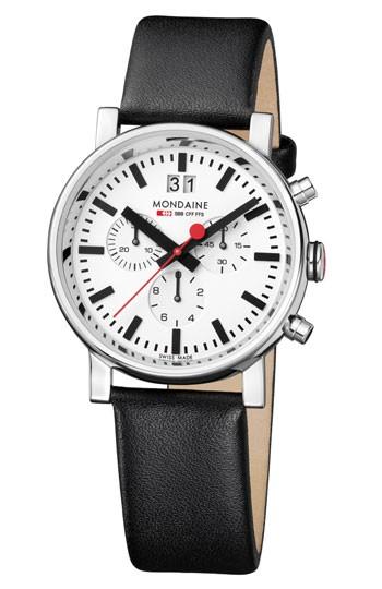 Mondaine montre suisse homme EVO Chronograph A690.30304.11SBB