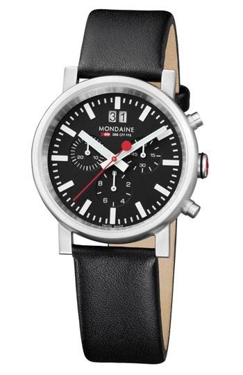Mondaine montre homme suisse EVO Chronograph A690.30304.14SBB