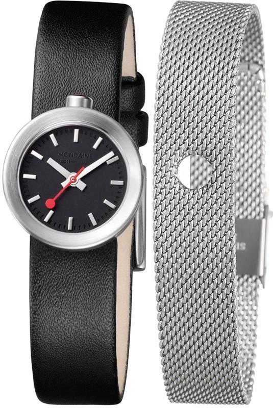 Mondaine montre suisse dame AURA A666.30324.14SBB.B