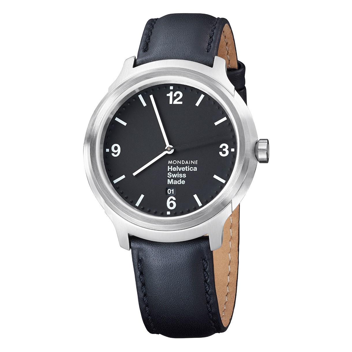 Mondaine swiss watch Helvetica No1 Bold MH1.B1220.LB
