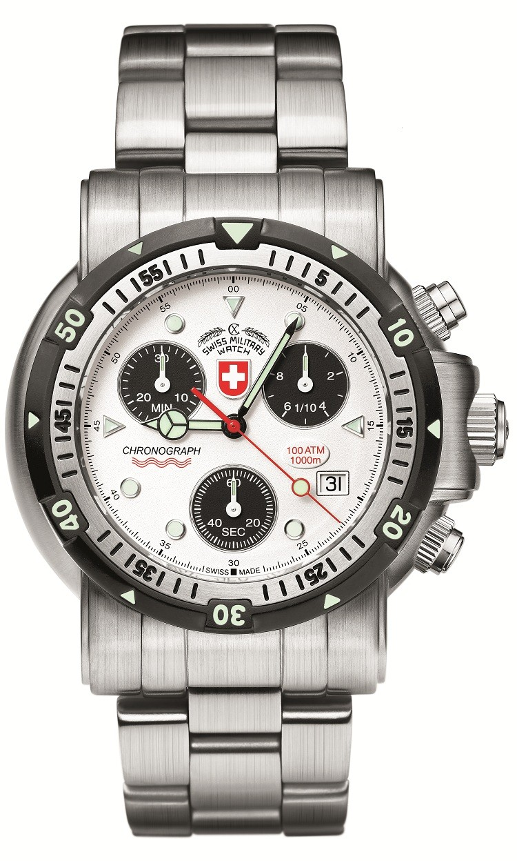 Swiss Military by Charmex Diver´s SW I 1725